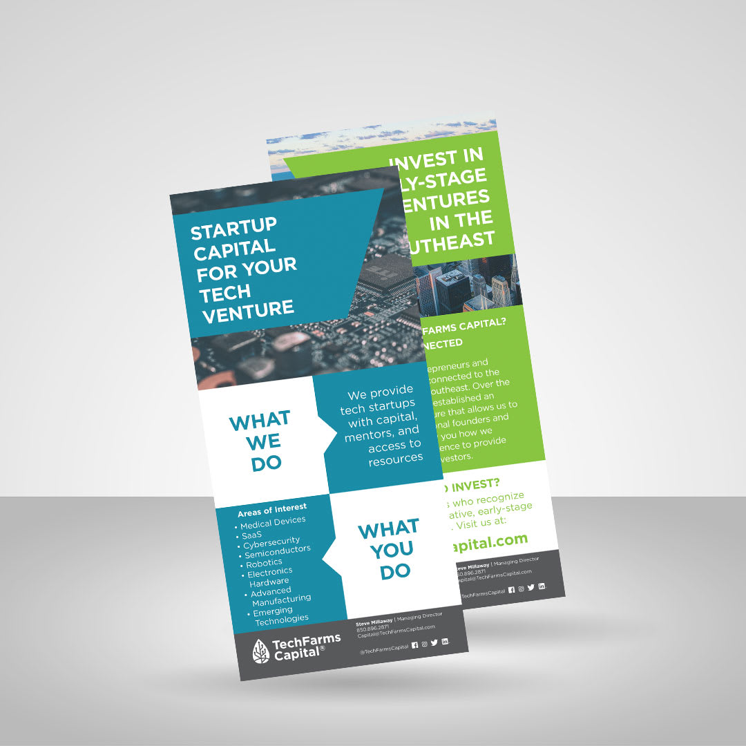 Trade Show Promotional Rack Card