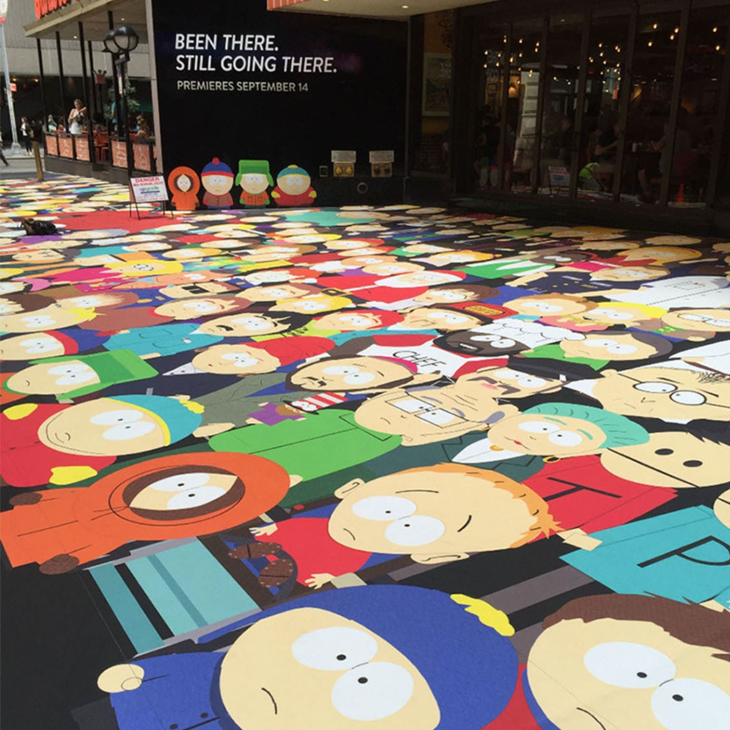 South Park 20th Anniversary: Shubert Alley Takeover