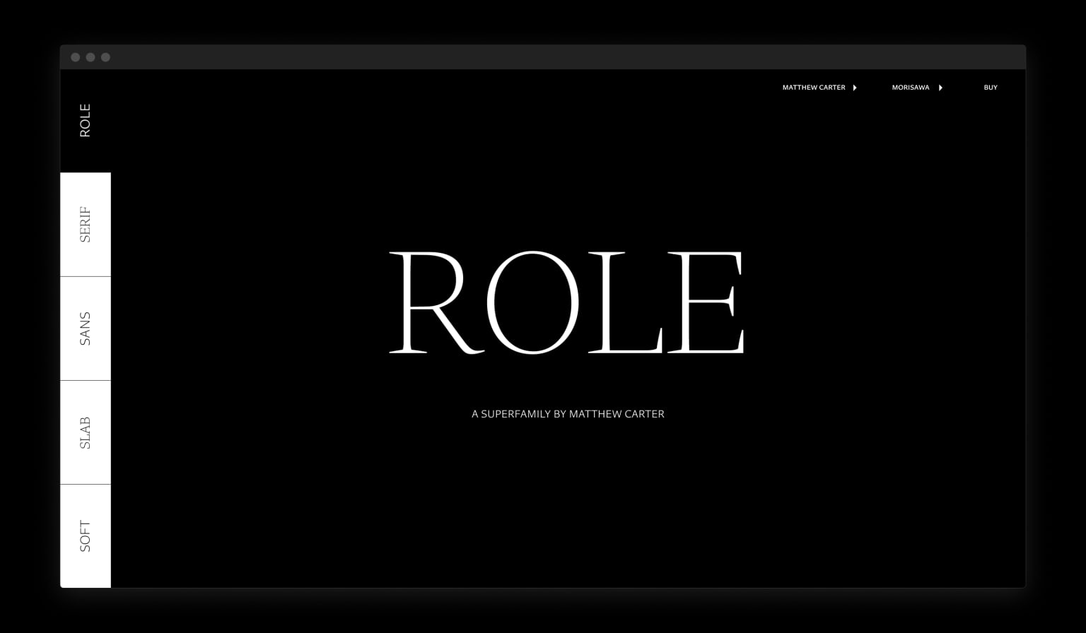 Role Superfamily Website