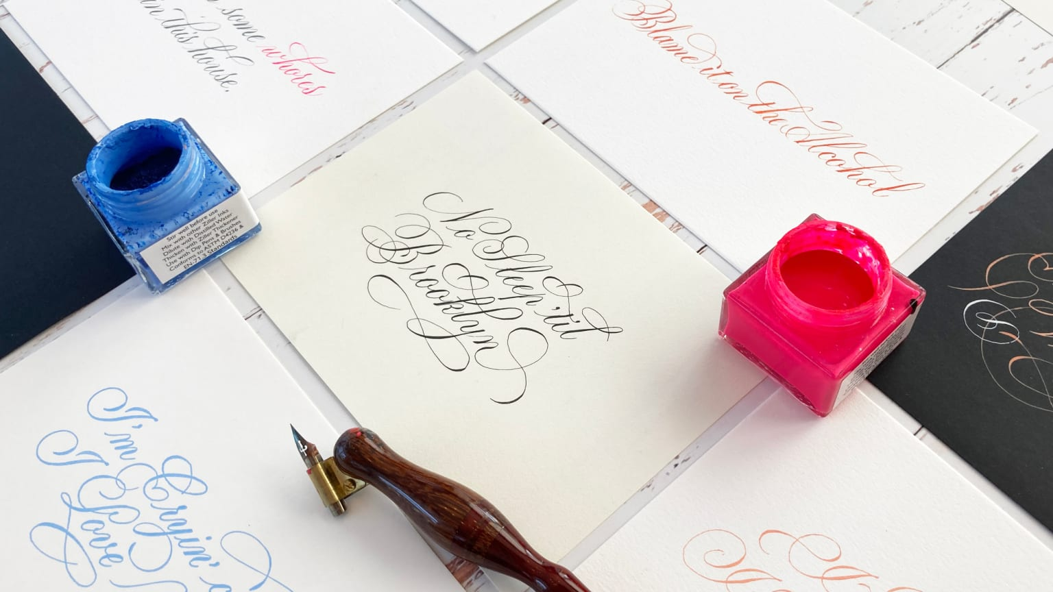 Lowbrow Calligraphy