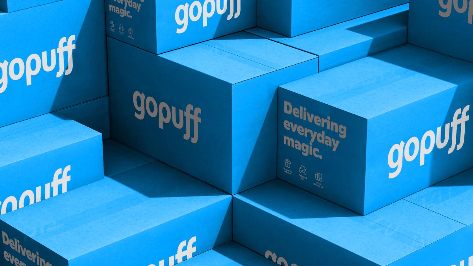 Gopuff Rebrand