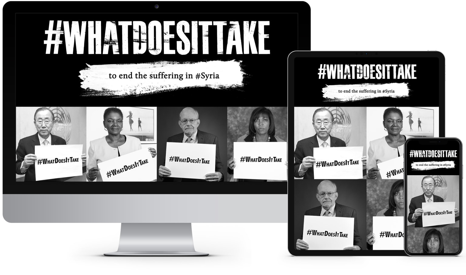 United Nations: Syria Campaign #WhatDoesitTake