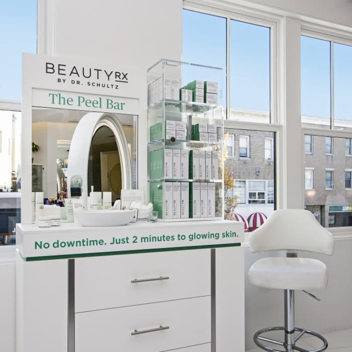 BeautyRx by Dr. Schultz Digital Asset & Print Collateral Freelance Designer