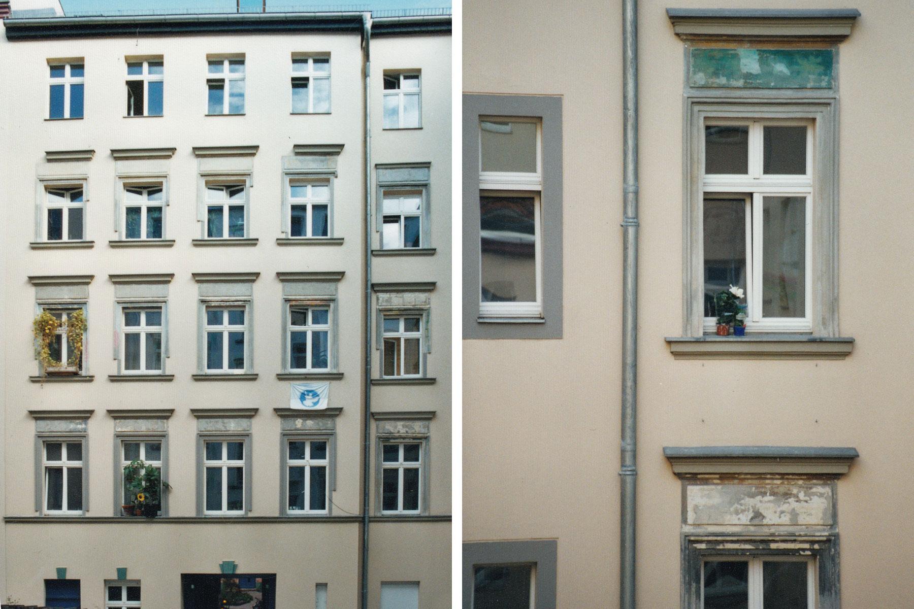 Mietshaus Dunckerstraße Fassade