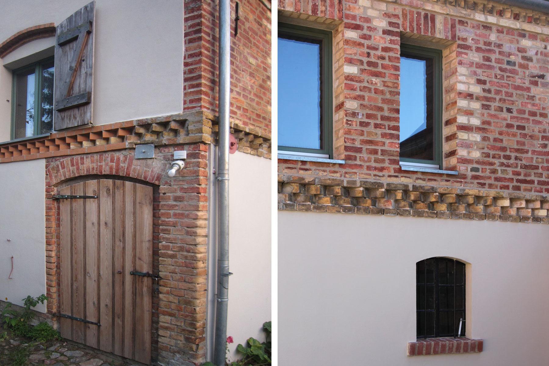 Stallgebäude Wohnhaus Mauerwerk