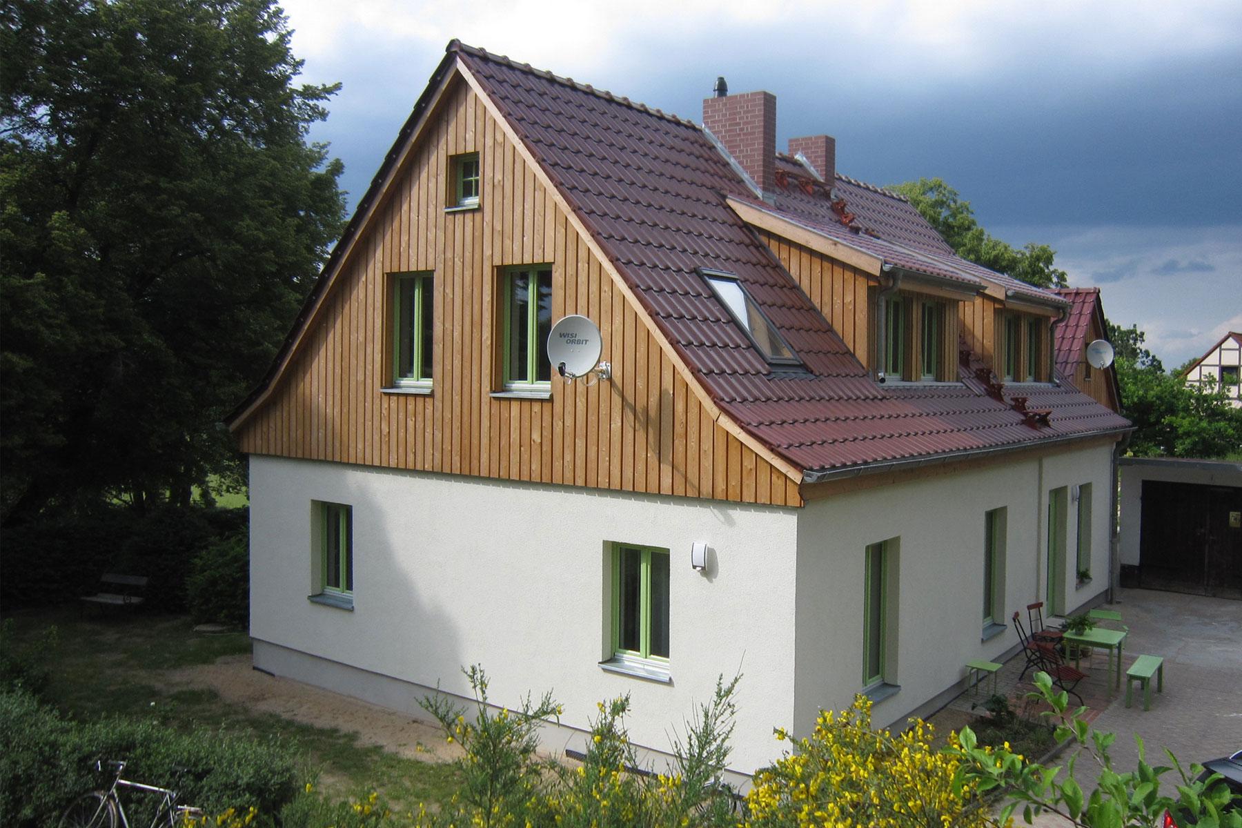 Sanierung Holzschalung Gauben