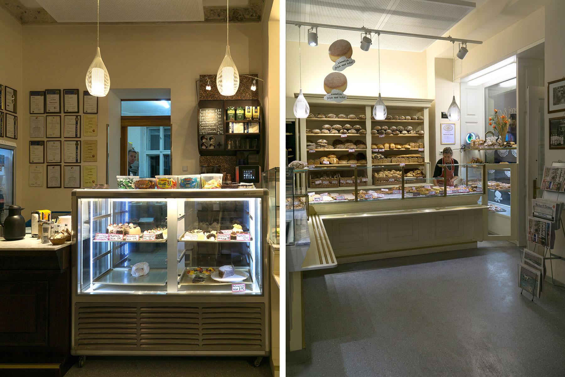 Bäckerei Siebert Verkaufsraum