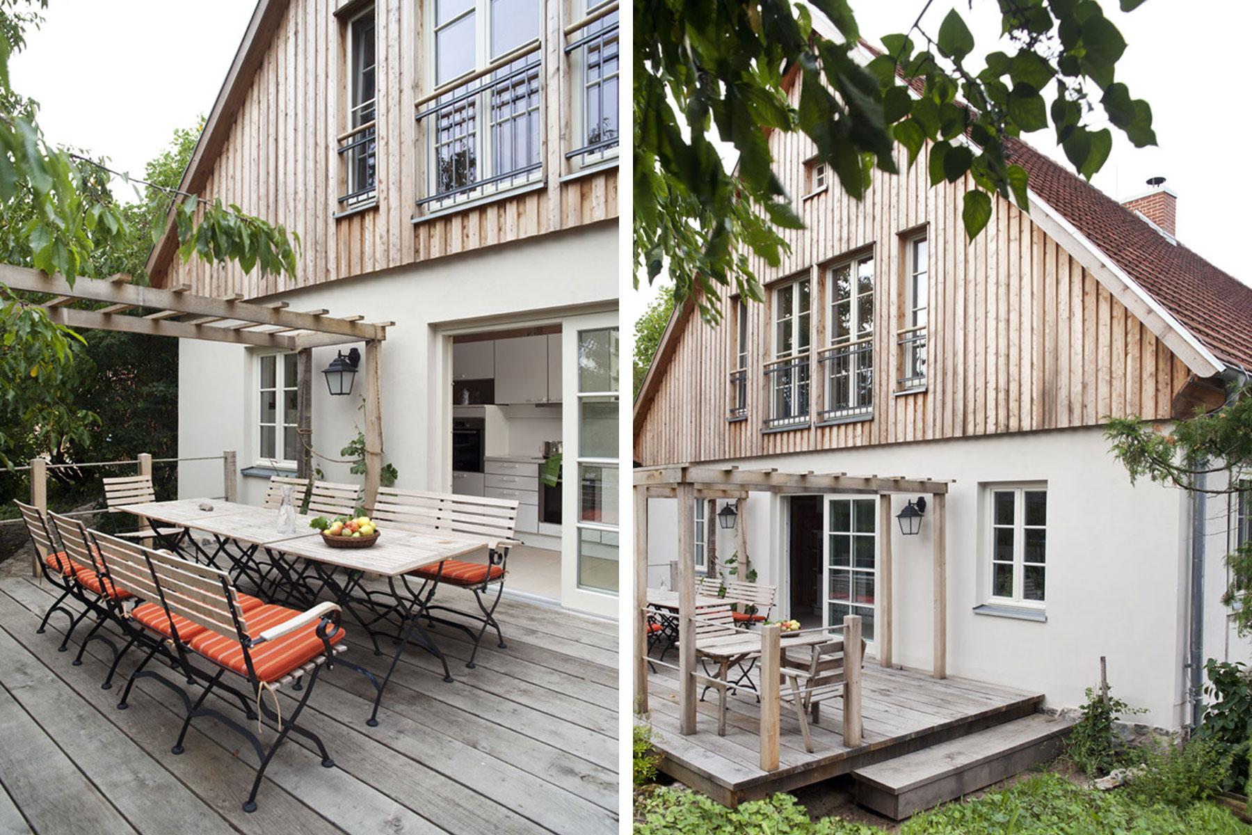Fachwerkhaus Holzschalung