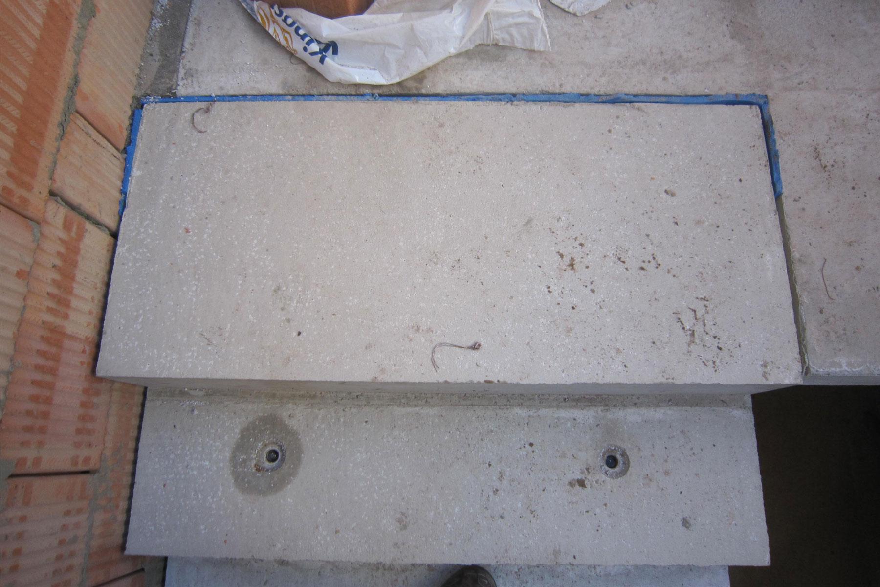 Kindergarten Storkow Treppe entkoppelt