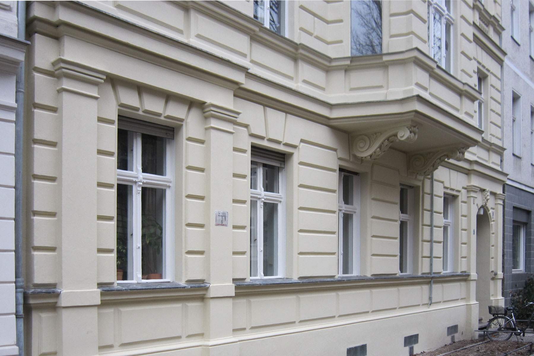 Denkmalgerechte Fassadensanierung