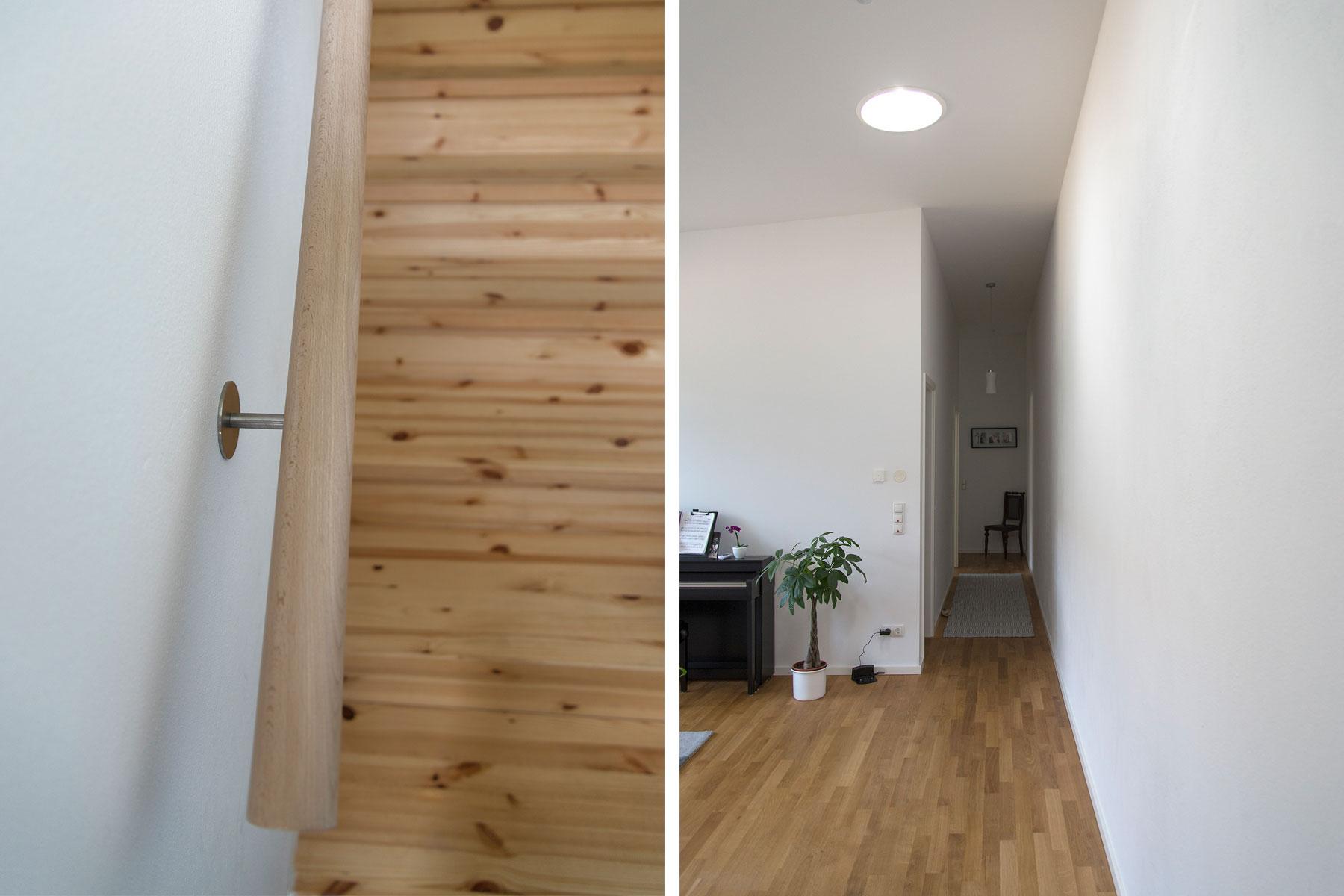Holzrahmenbau Holztreppe
