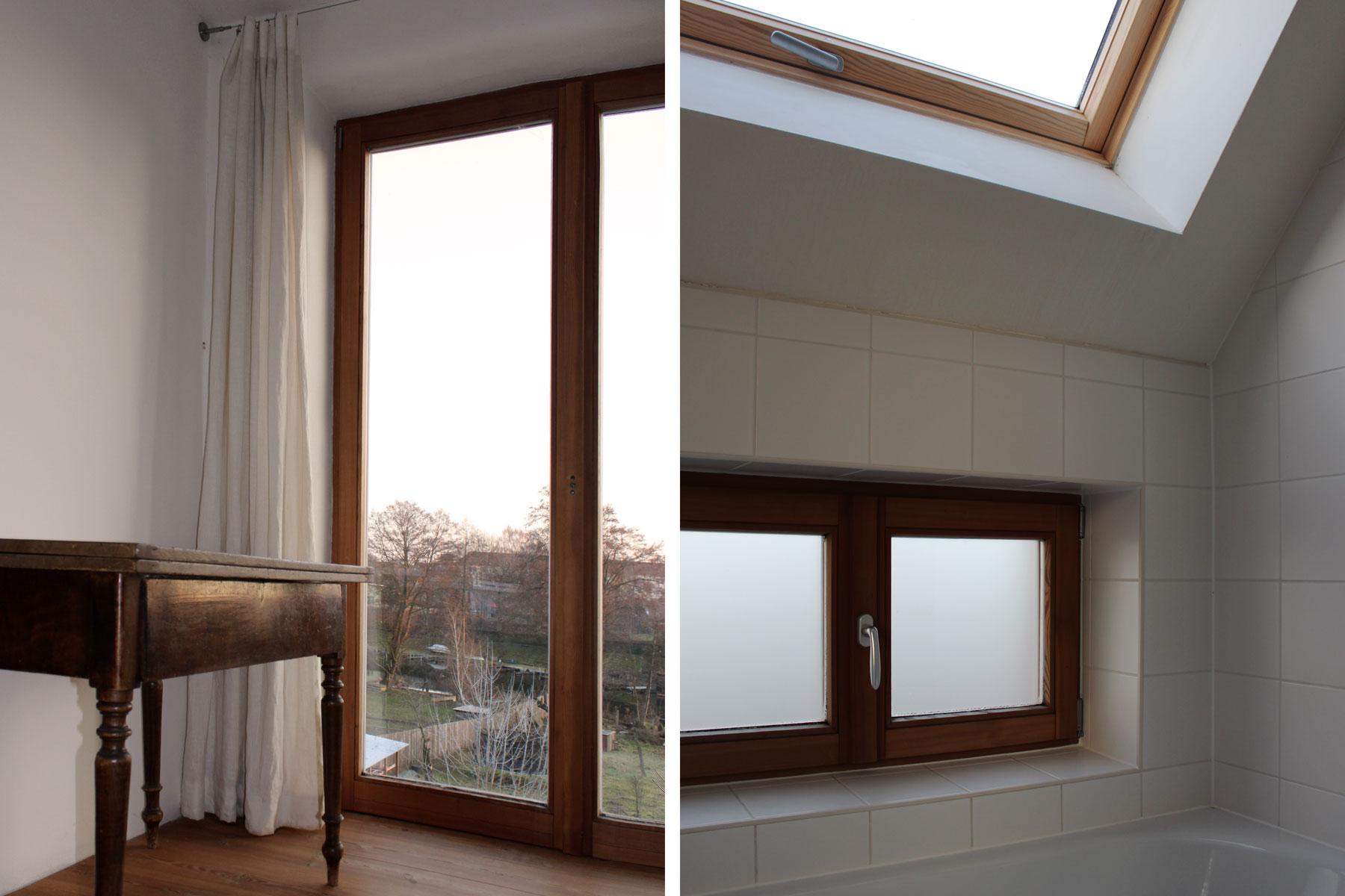 Dachflächenfenster Bad