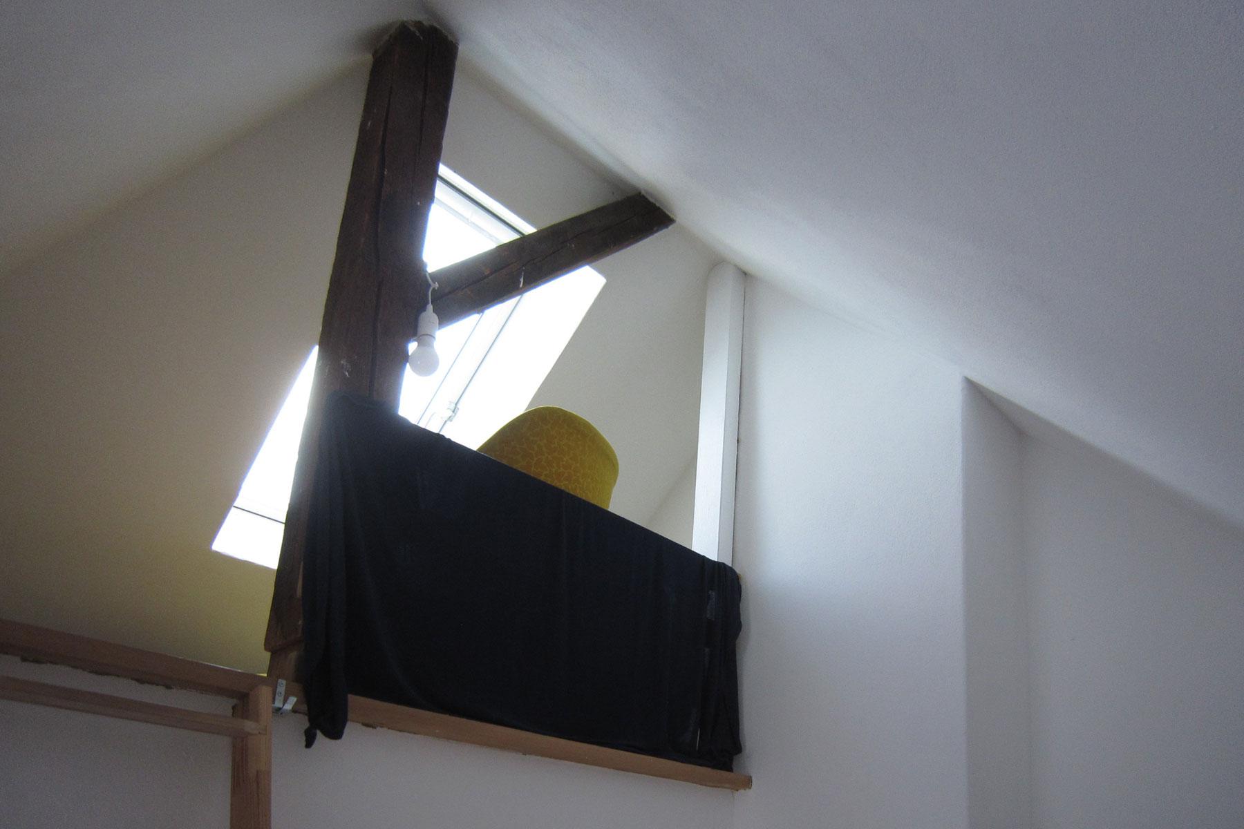 Fliegerviertel Dachboden