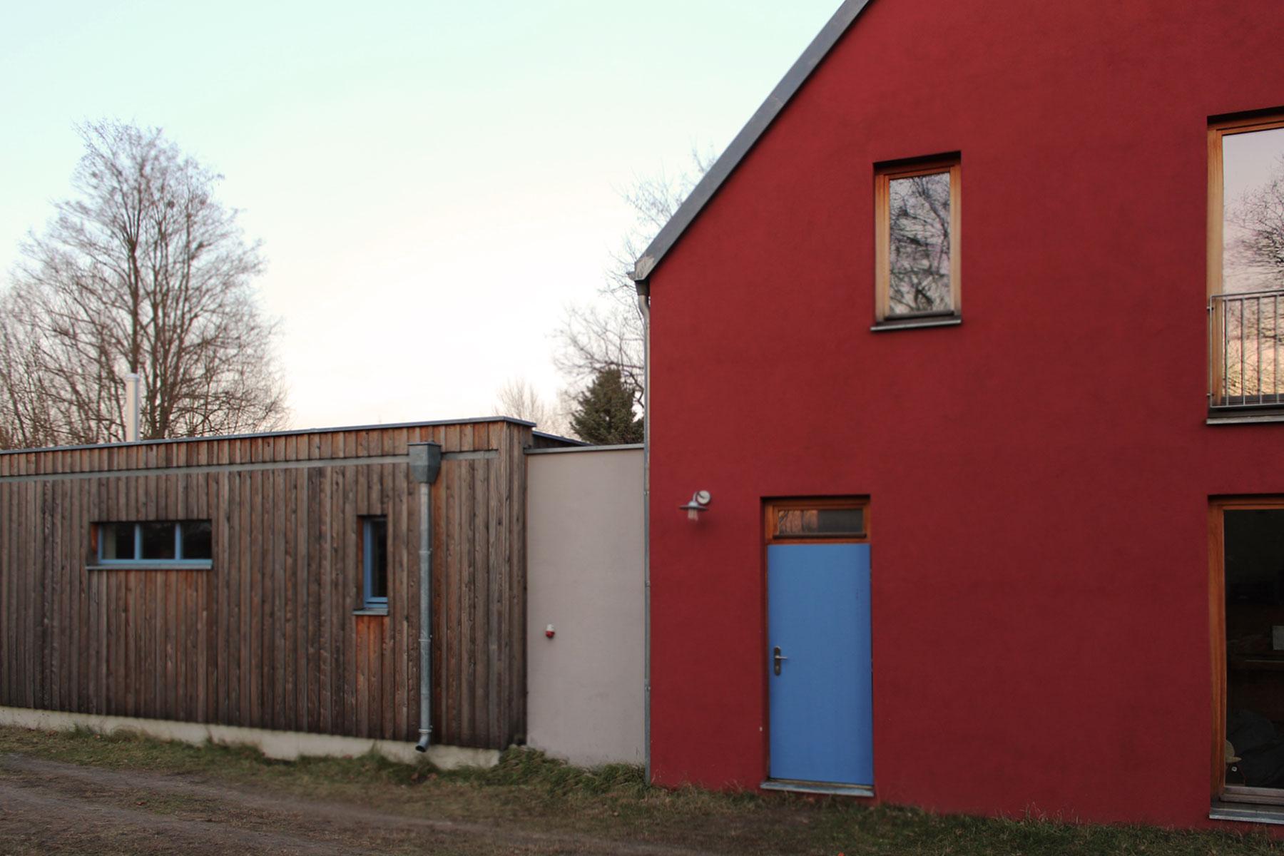 Mauerwerk Holzrahmenbau