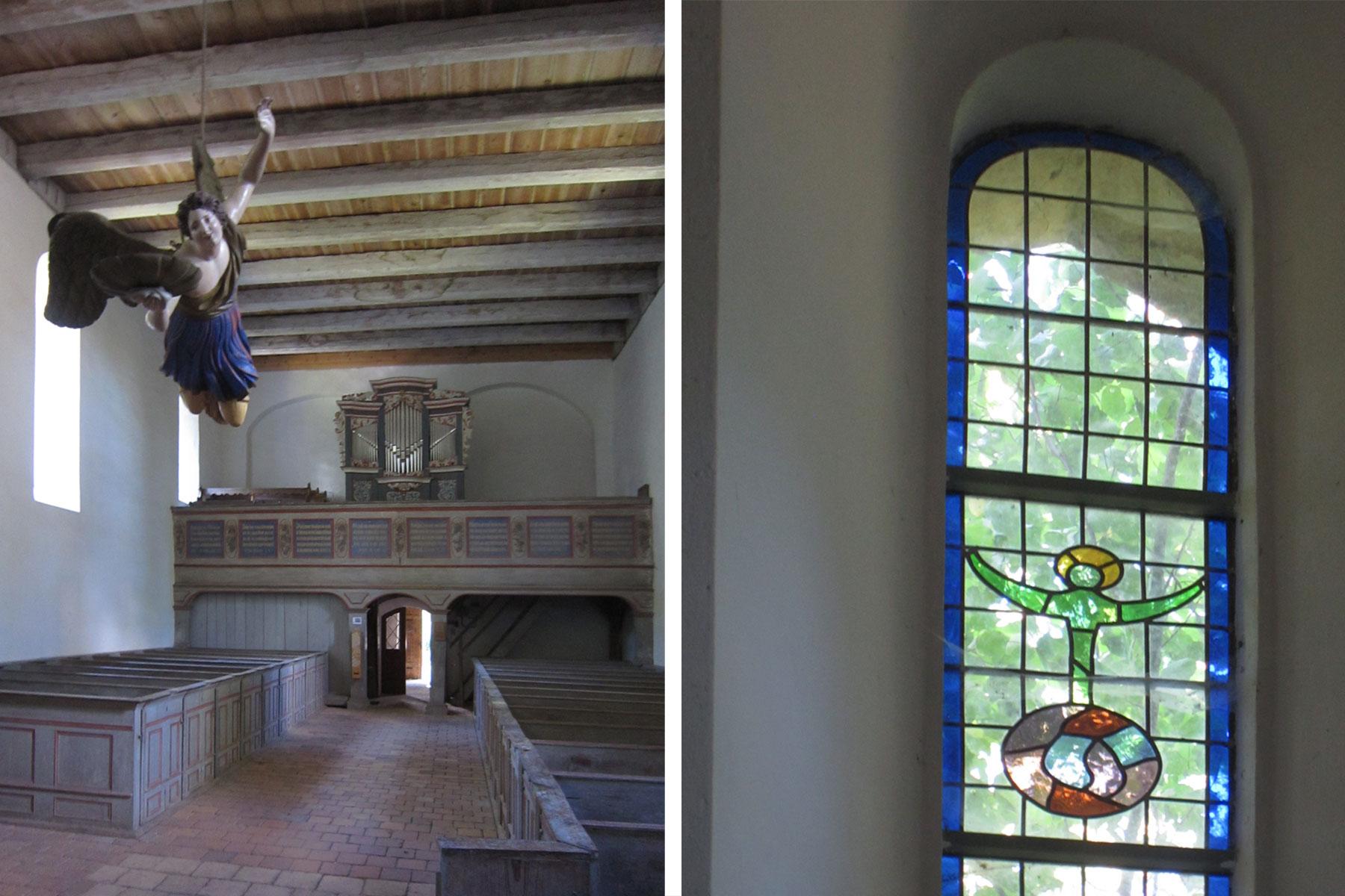Sternhagen Kirche Innenraum