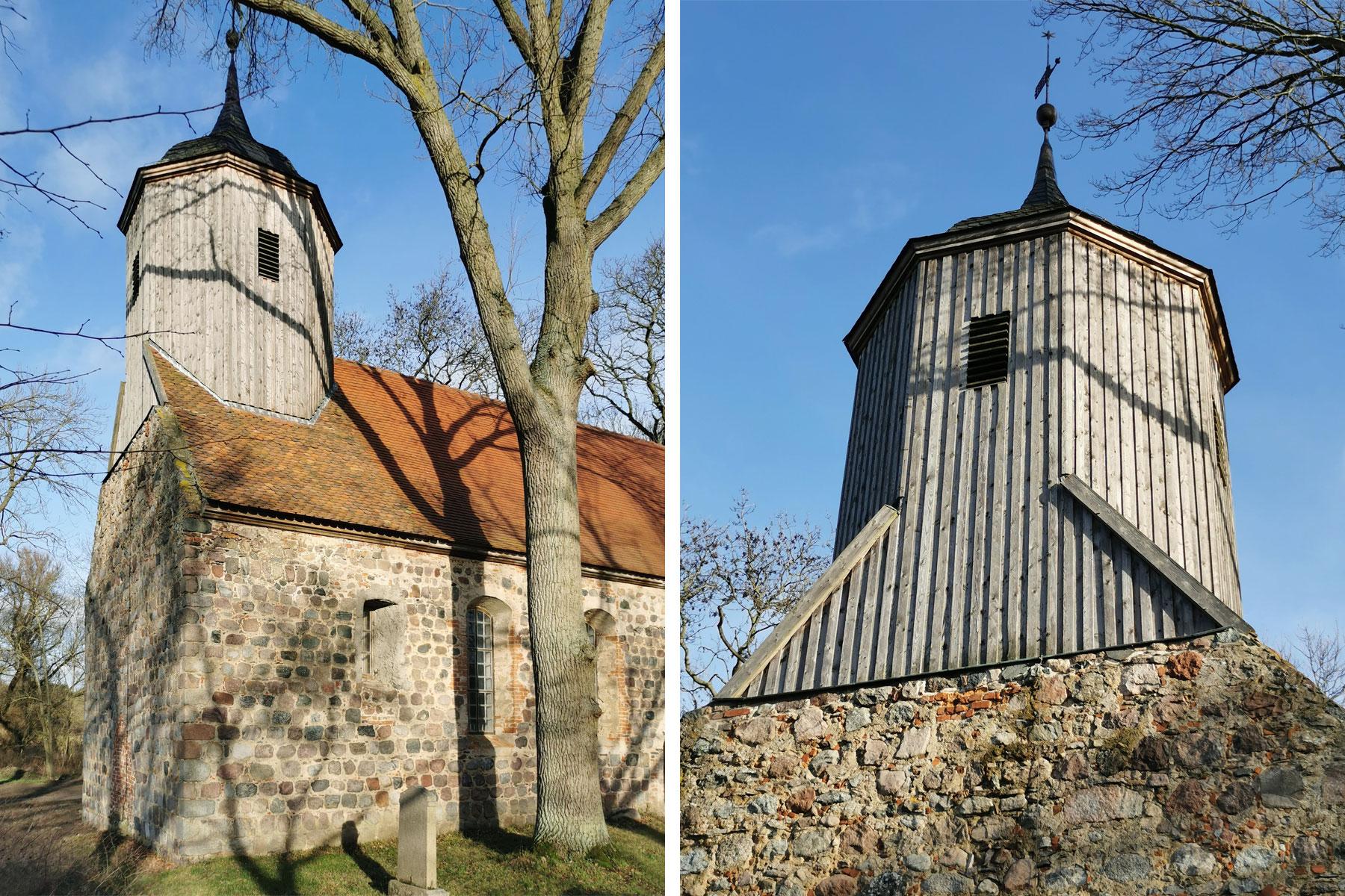 Feldsteinkirche Turmsanierung