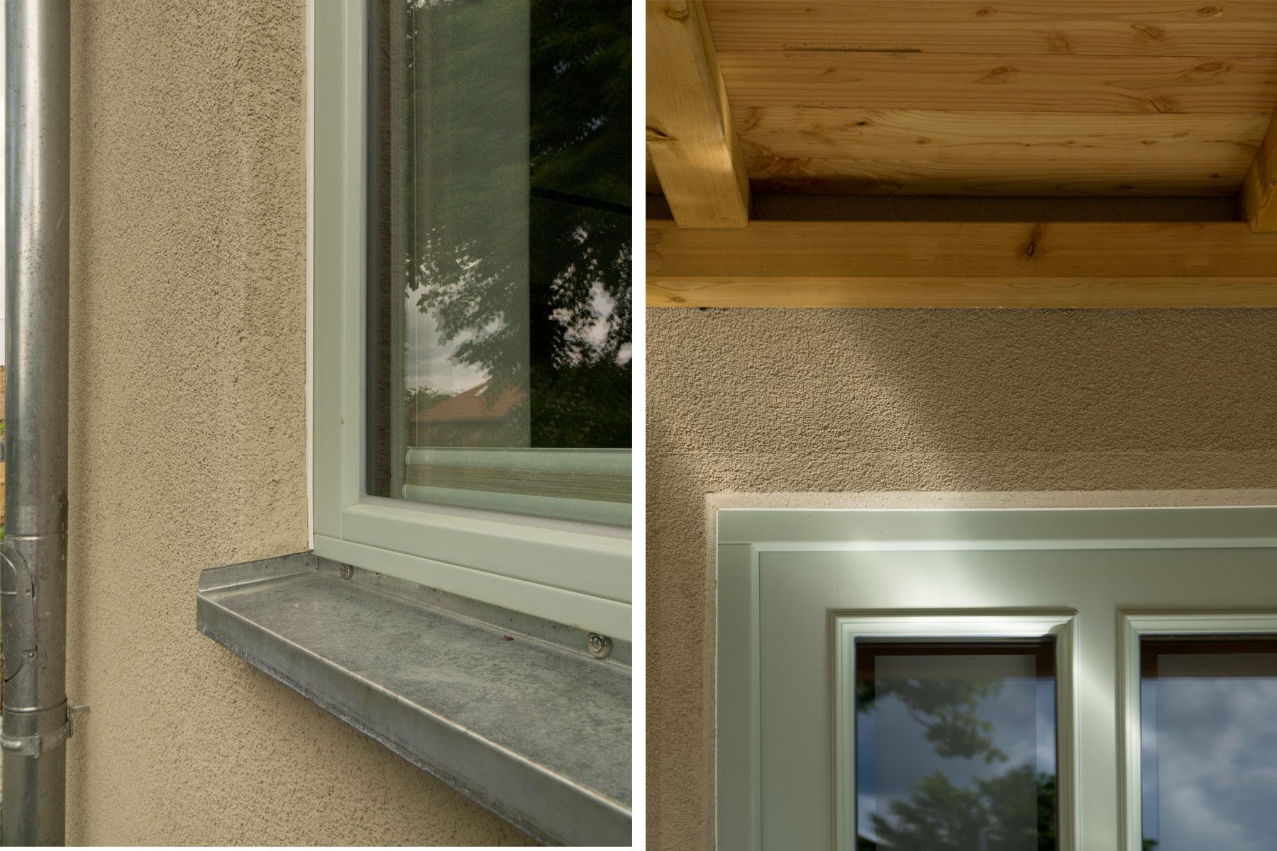Holzrahmenbau Fenster