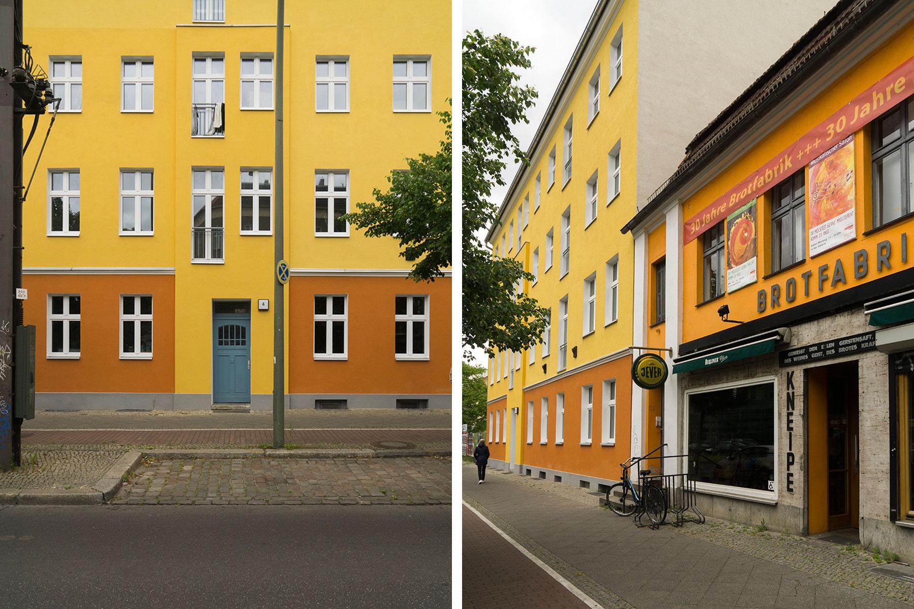Mietshaus Fassade