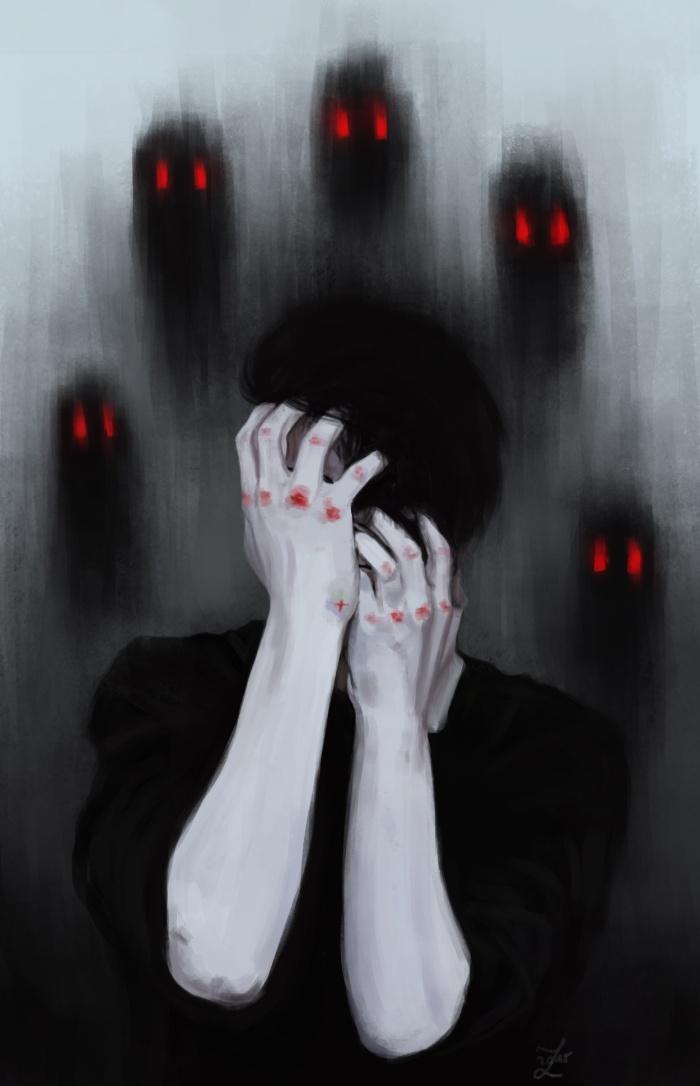 12 Lukisan Depresi Ini Buatmu Tahu Bagaimana Rasanya Depresi