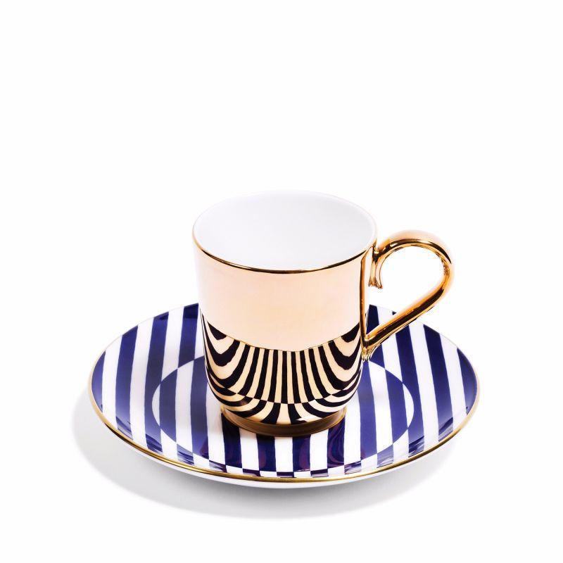Warp Gold Espresso Cup & Saucer image