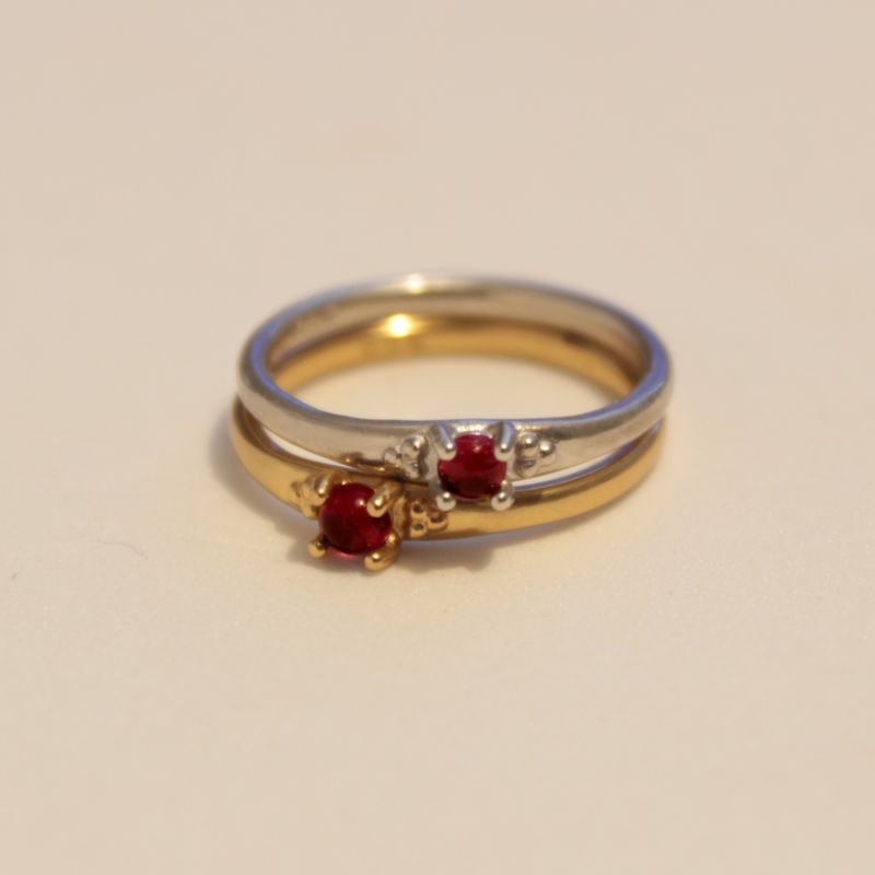 Estatira Garnet Ring image