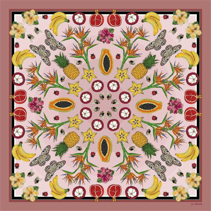 Amethyst Silk Scarf image