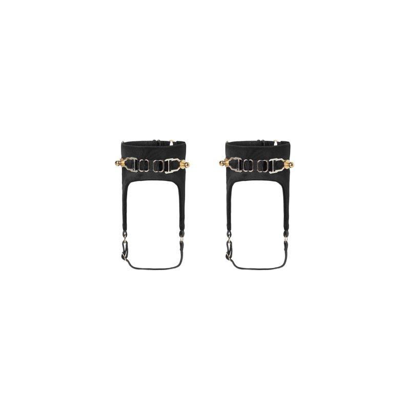 Secure Anklets - Black image
