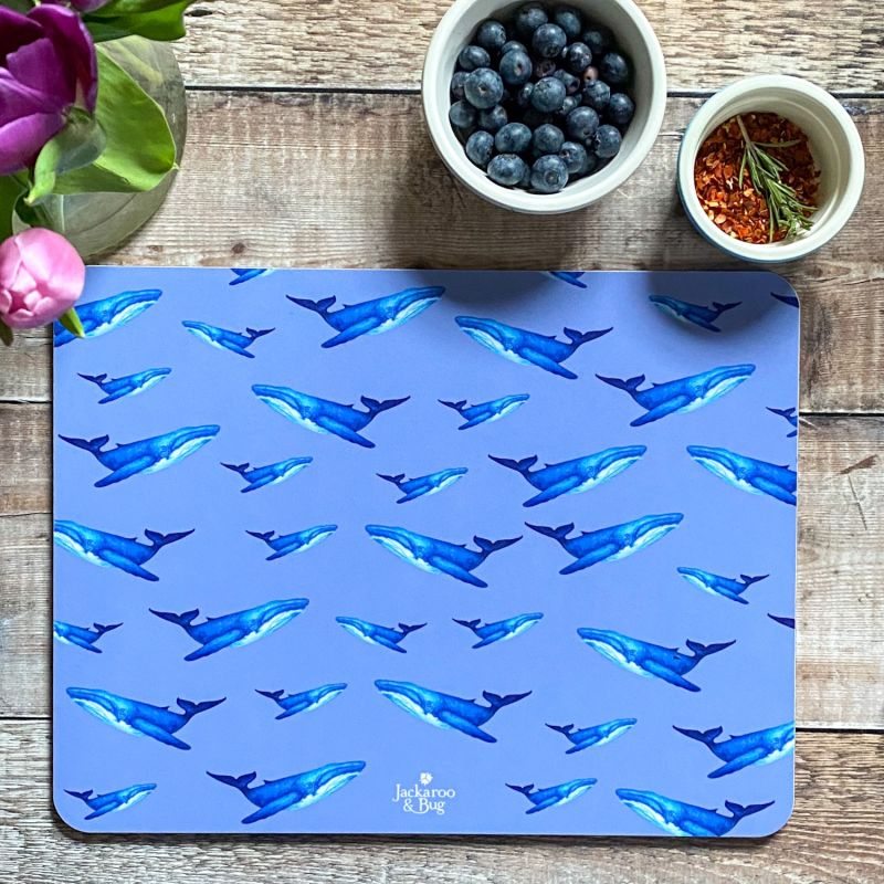 Large Whale Placemat image