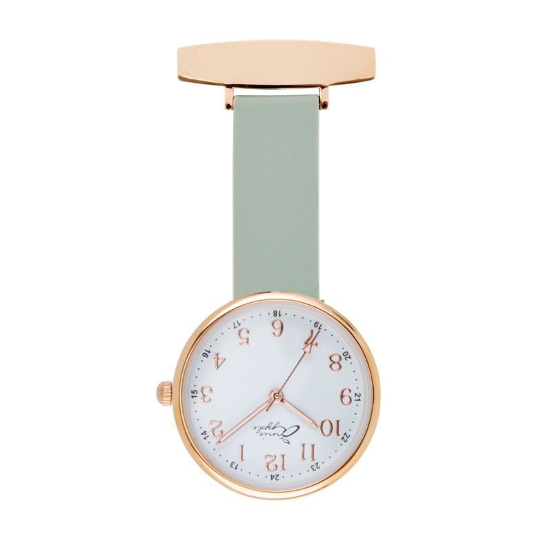 Venus Interchangeable Rose Gold/Teal Leather image