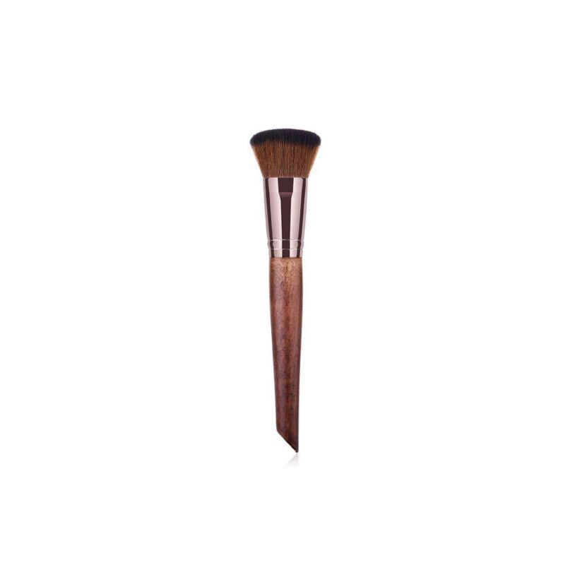Vegan Curved Concealer & Foundation Makeup Brush image