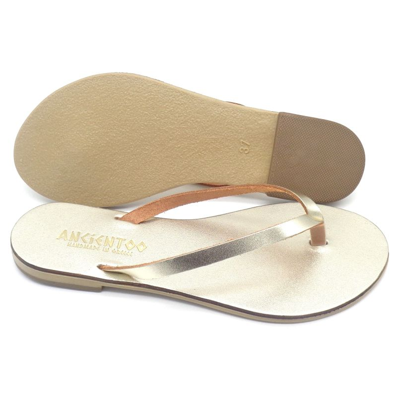 Flip flops Achelois Gold image
