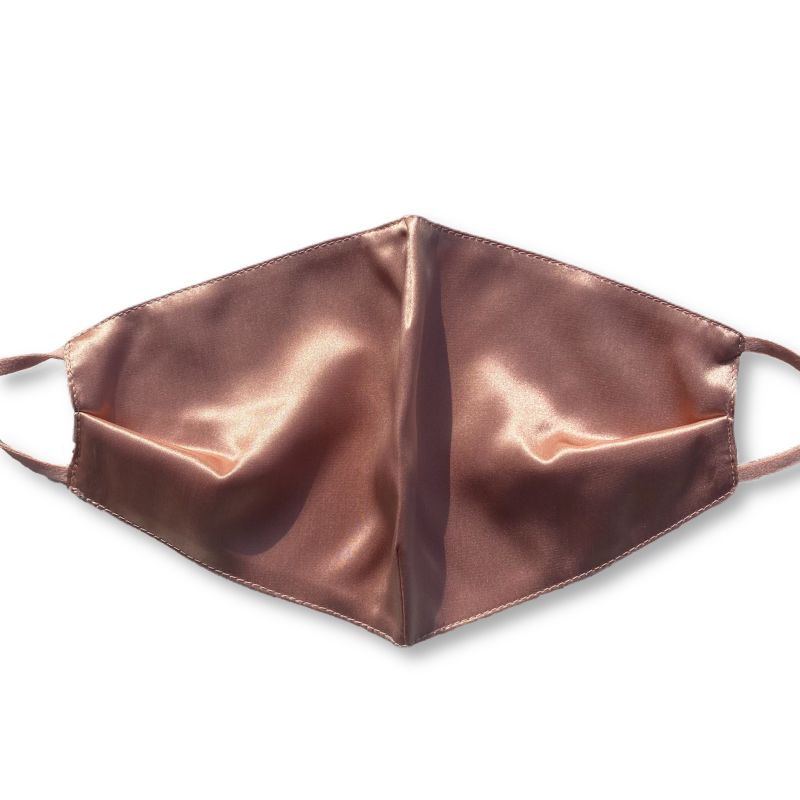 Anti-Acne Organic Silk Masks - Rose Gold image