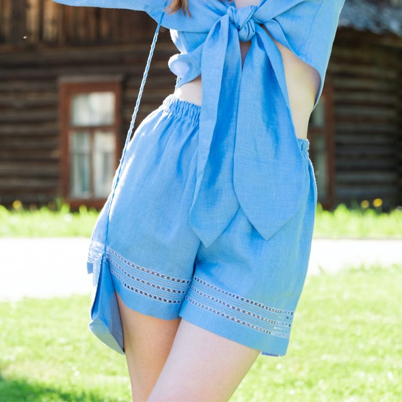 Anfisa Shorts in Sky Blue image