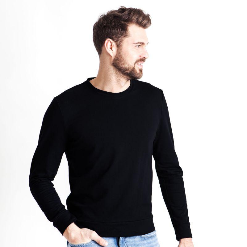 Soft Sweater For Hugging Him - Black image
