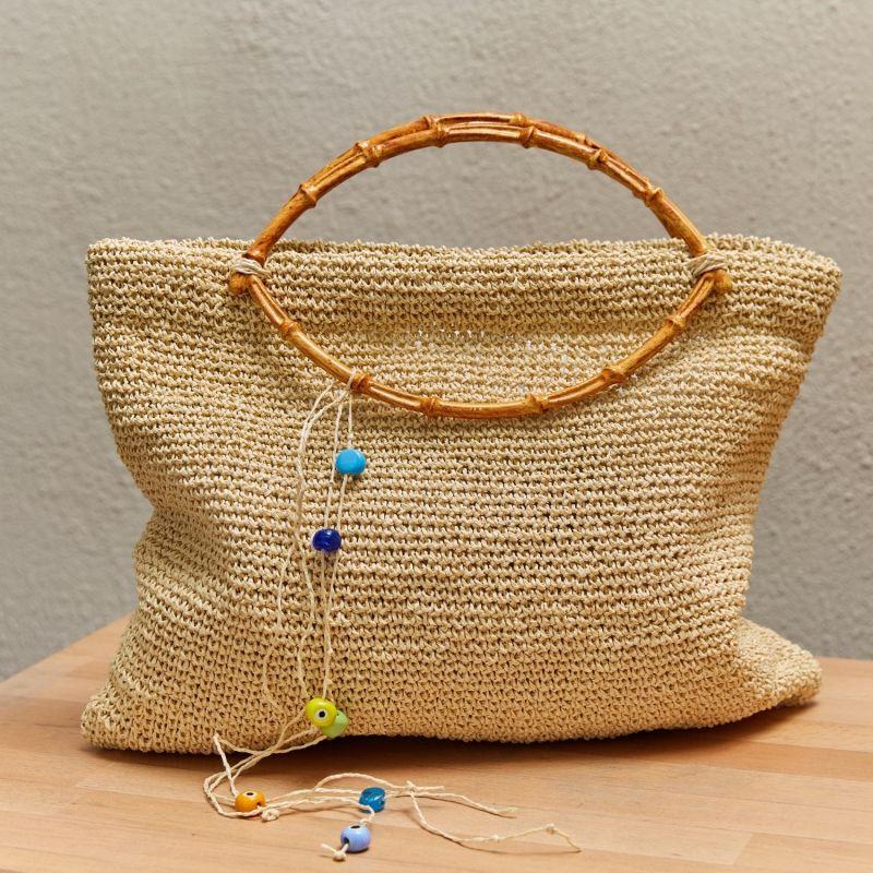 Thassos Raffia Crochet Bag image