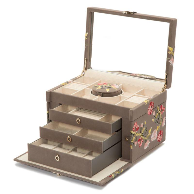Zoe Large Jewelry Box - Mink image