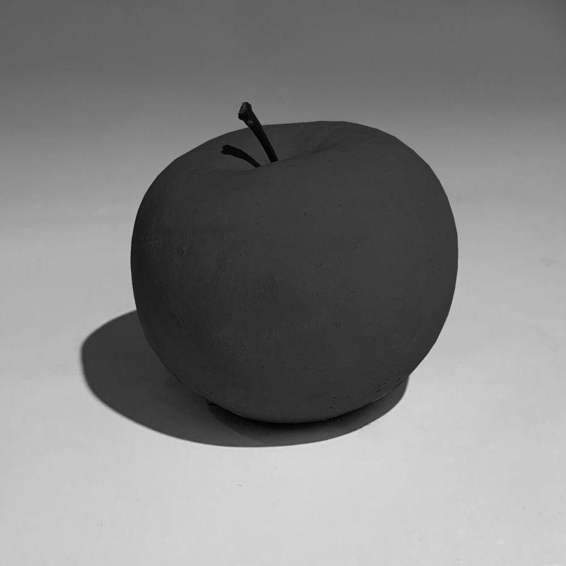 Ornamental Concrete Apple Mystery Black image