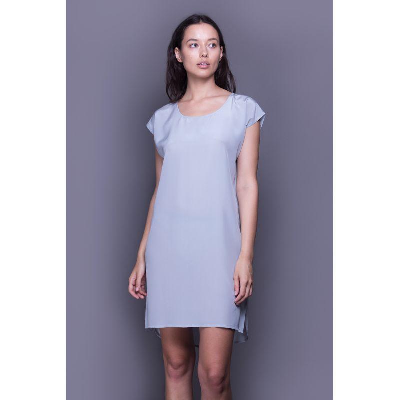 Silk Nightshirt - Blue image