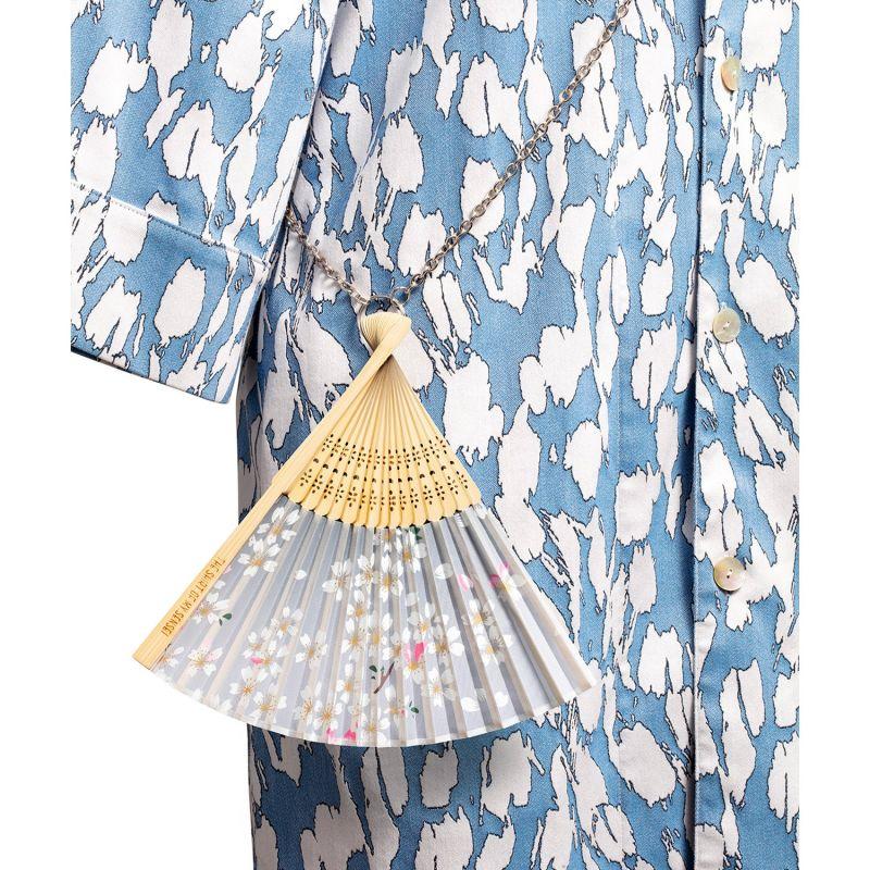 Yukata Shirt Sky Blue/White image