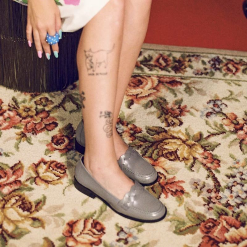 Brigitte Loafers - Grey image