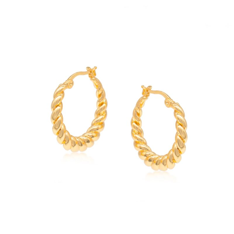Ivy Gold-Plated Earrings image