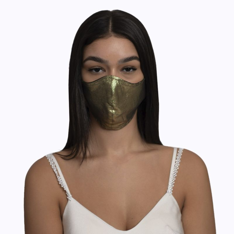 Adjustable Gold Mask image