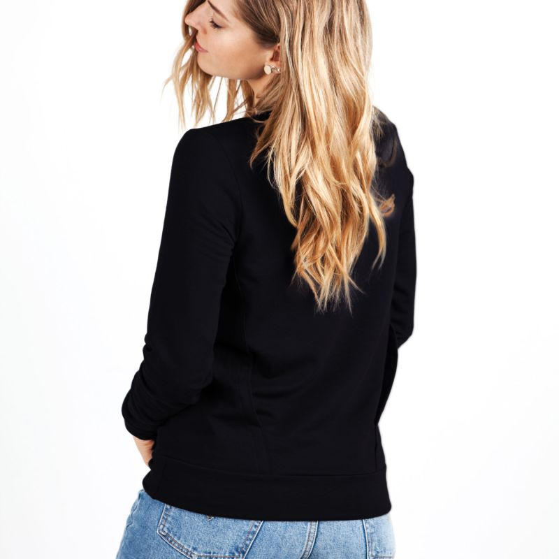Soft Sweater For Hugs & Touches - Black image