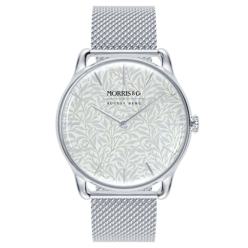 Morris & Co. Pure Silver Willow Boughs - Silver Mesh 38mm image