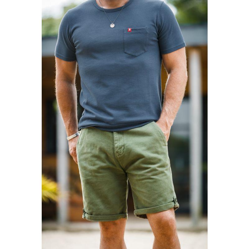 &Sons Virgil Chino Shorts Army Green image