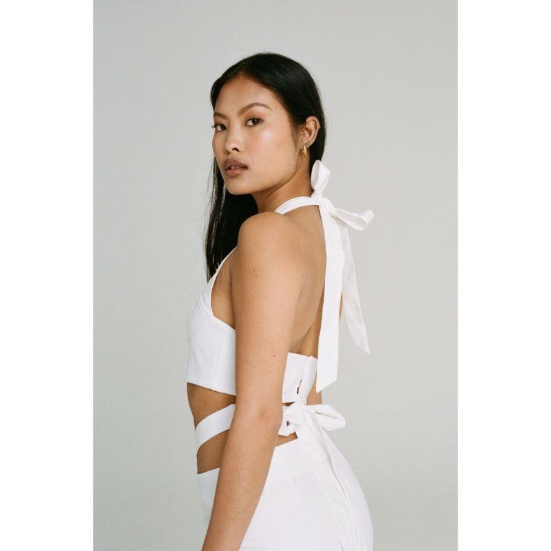 Orisa Bustier - White image