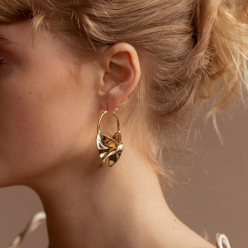 AMY Gold Plated Earrings image