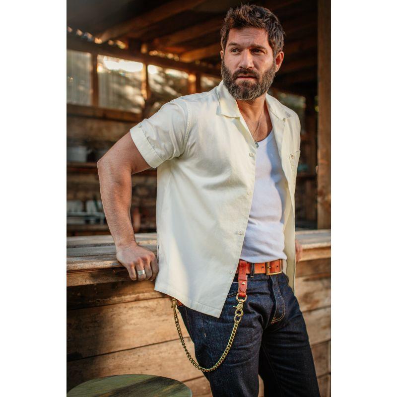 &Sons Club Shirt Off White image