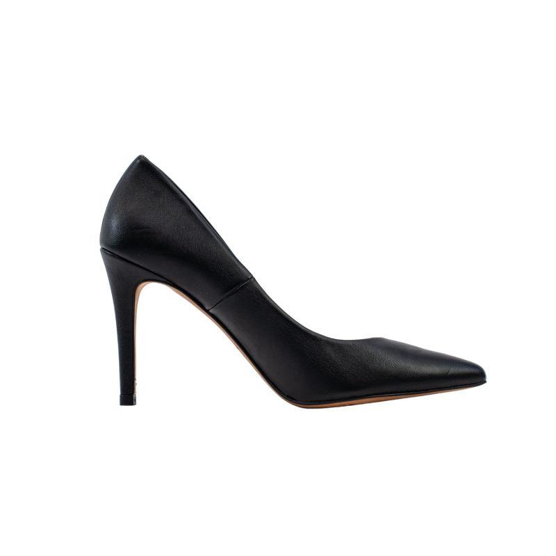 Sophie Black Vegan Leather Stiletto Court image