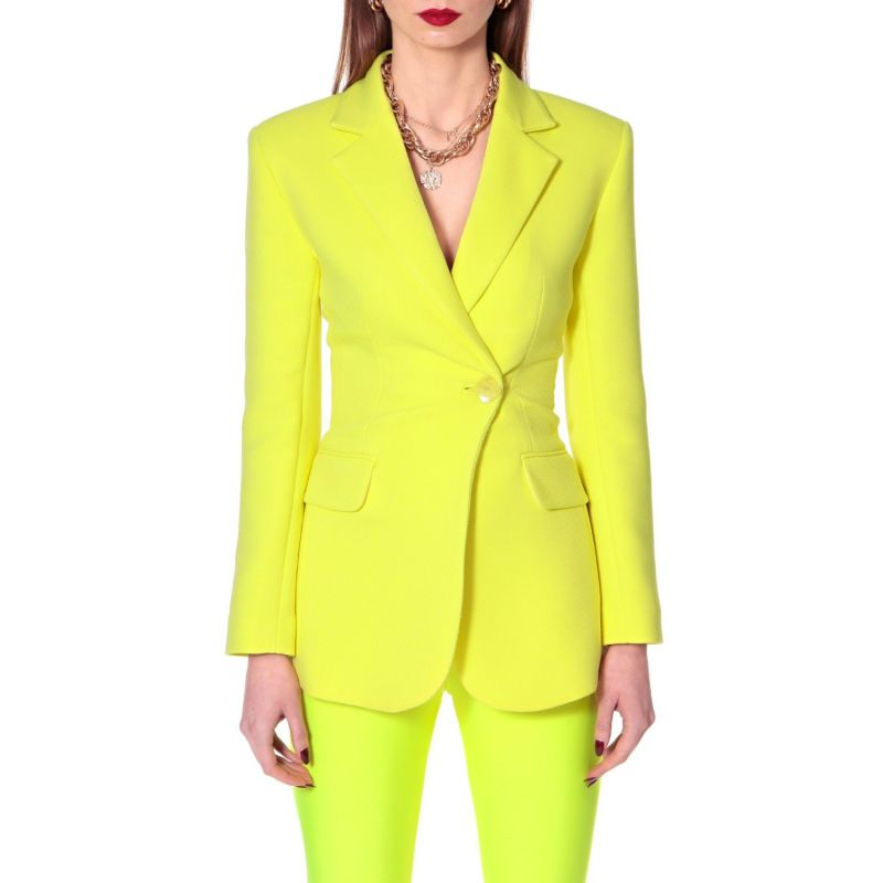 Isabella Laser Yellow Blazer image